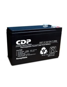 BATERIA CDP (SS7-12) 12VA/7.2AMP UPS 750VA Y 900VA