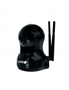 CAMARA IP LOGAN (LW2BJBY) DOMO 2MPX 1080P WIFI +1 ROUTER N300/2.4GHZ LWR3A243L