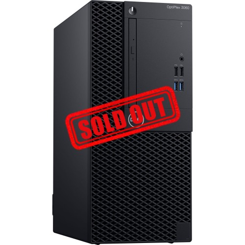 DESKTOP DELL OPTIPLEX 3060 MT ESP W10PRO CI3-8100 3.60GHZ/4GB/500GB