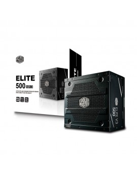 FUENTE PODER COOLER MASTER (ELITE V3) 500 WATTS 100-240V