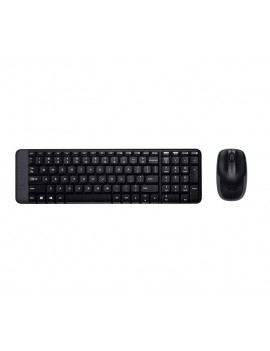KIT LOGITECH (MK220) TECLADO/MOUSE WIRELESS USB