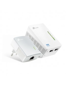TP-LINK POWERLINE WIFI  EXPANDIDOR POR AC  (WPA4220KIT) AV500 10/100