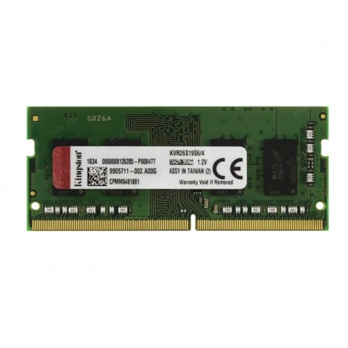 MEMORIA KINGSTON 4GB 2666MHZ DDR4 SO-DIMM
