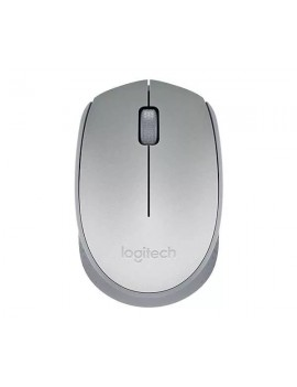 MOUSE LOGITECH (M170) OPTICO WIRELESS PLATEADO