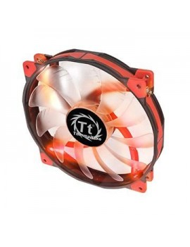 ABANICO THERMALTAKE (LUNA 20) PARA CASE 800 RPM/LED/ROJO