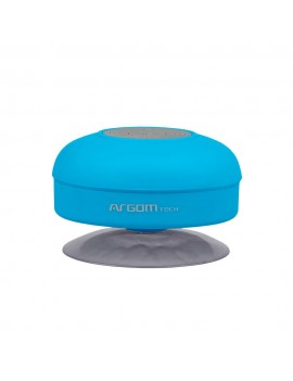 PARLANTE ARGOM AQUABEATS (2801) WIRELESS BLUETOOTH 3W AZUL RESISTENTE AL AGUA