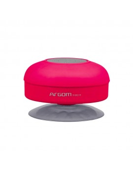 PARLANTE ARGOM AQUABEATS (2801) WIRELESS BLUETOOTH 3W ROSADO RESISTENTE AL AGUA