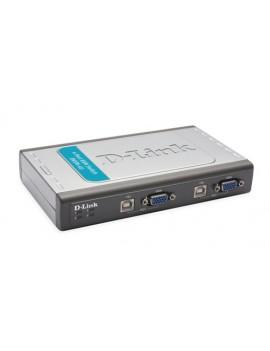 SWITCH D-LINK (DKVM-4U) 4 PORT USB KVM/VGA