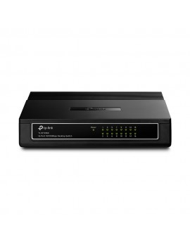 SWITCH TP-LINK (SF1016D) 16-PORT 10/100/ NEGRO