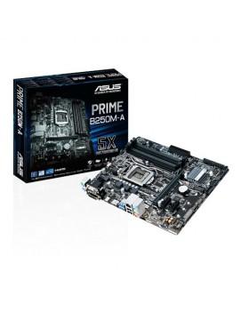 MICRO ATX ASUS (PRIME B250M-A) (INTEL) (1151) MAX 64GB/4DDR4/DVI/HDMI/DVI/USB