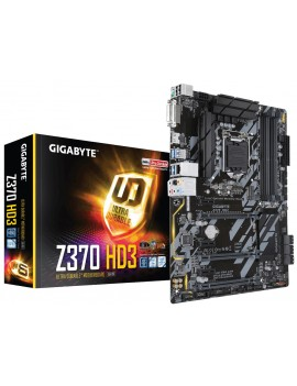 ATX GIGABYTE Z370 HD3 8TH (1151) MAX 64GB 4XDDR4/HDMI/USB/DVI