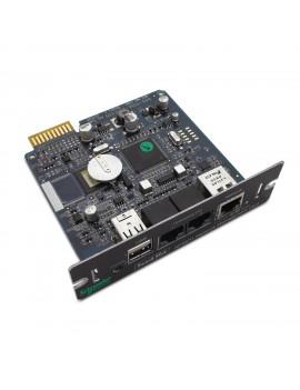 TARJETA PCI GESTION DE REDES APC CON MONITOREO AMBIENTAL IPV6 AP9631