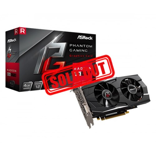 TARJETA DE VIDEO ASROCK PHANTOM GAMING D RADEON RX570 4GB DDR5 DVI/HDMI/DP