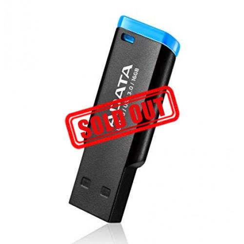 MEMORIA USB 16GB ADATA (UV140) USB 3.1 NEGRO CON AZUL