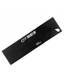 MEMORIA USB 16GB KINGSTON (DTSE3/16GB) NEGRA