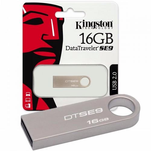 MEMORIA USB 16GB KINGSTON (DTSE9H/16GB) CHAMPAGNE