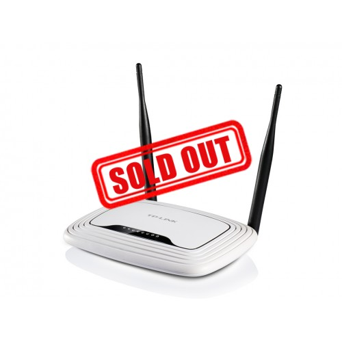 ROUTER TP-LINK (WR841N) WIRELESS 2.4GHZ N300 2 ANTENAS 5DBI