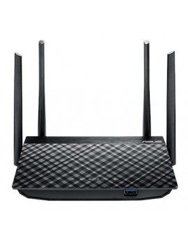 ROUTER ASUS (RT-AC1200) WIRELESS 2.4-5.0GHZ AC1200 4 ANTENAS 5DBI