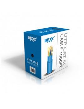 CABLE UTP IMEXX 4 PARES CAT5E  CERTI UL GRIS