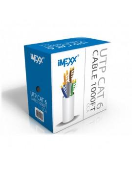 CABLE UTP IMEXX 4 PARES CAT6  CERTI UL GRIS