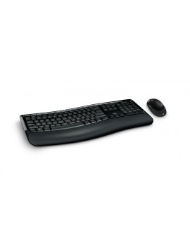 KIT MICROSOFT COMFORT (DT5050) AES TECLADO/MOUSE WIRELESS 2.4GHZ NEGRO