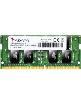 MEMORIA ADATA 16GB 2666MHZ 1024MX8 DDR4 SO-DIMM