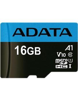 MEMORIA MICRO SD ADATA 16GB SDHC CLASE 10 (AUSDH16GUICL10A1-RA1)