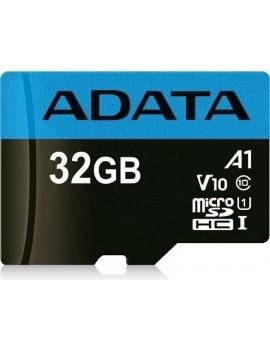 MEMORIA MICRO SD ADATA 32GB  SDHC CLASE 10 (AUSDH32GUICL10A1-RA1) 85/10 MB/S