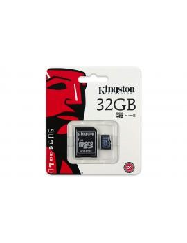 MEMORIA MICRO SD 32GB KINGSTON  SDHC (SDC4/32GB)