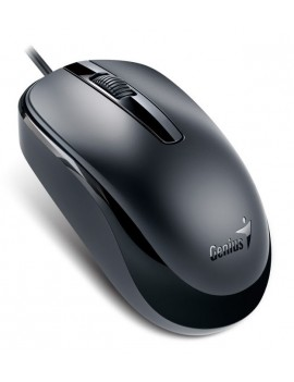 MOUSE GENIUS (DX-120) 1000DPI USB OPTICO NEGRO
